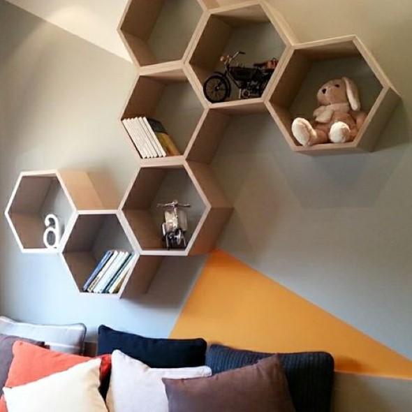 Use nichos na decoração 017