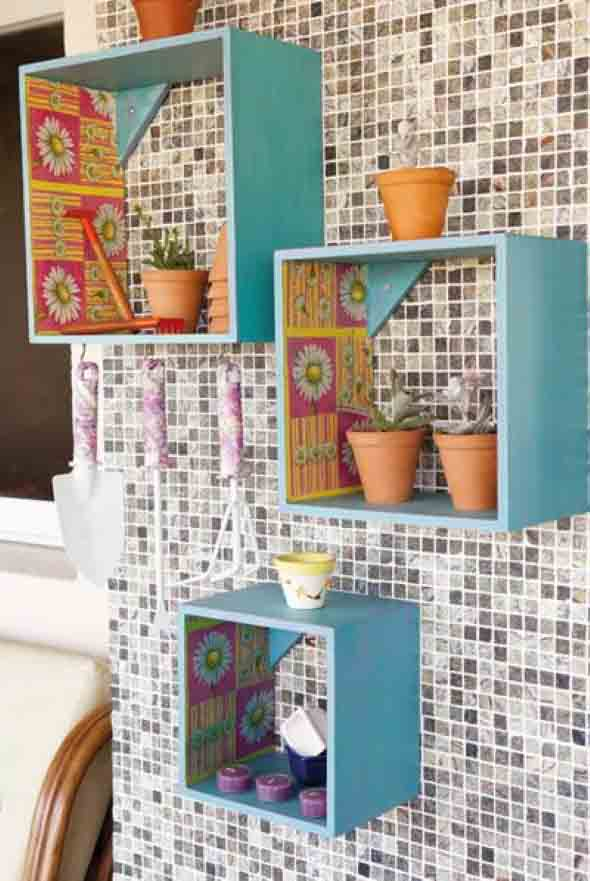 Use nichos na decoração 018