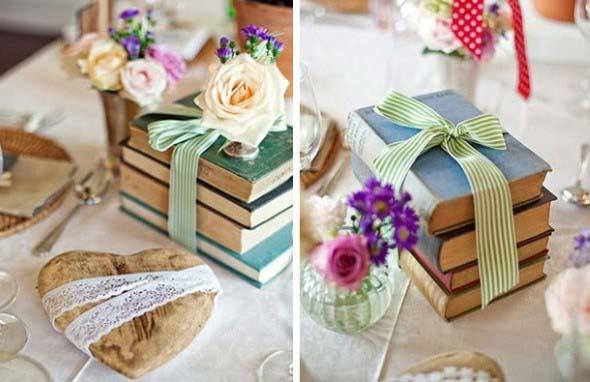 Como usar livros na decoração 007
