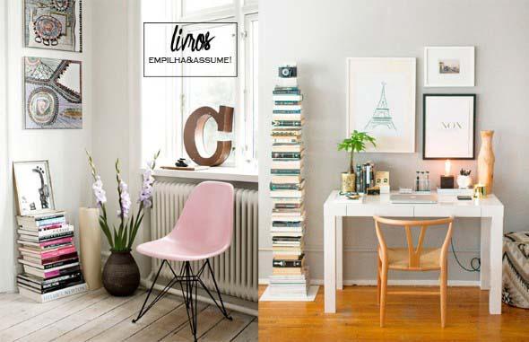 Como usar livros na decoração 008