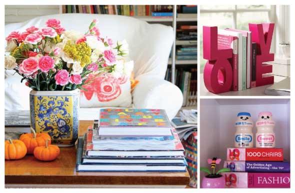 Como usar livros na decoração 010