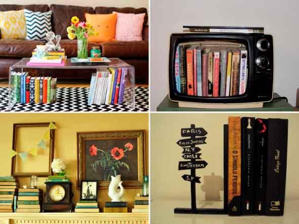 Como usar livros na decoração 011