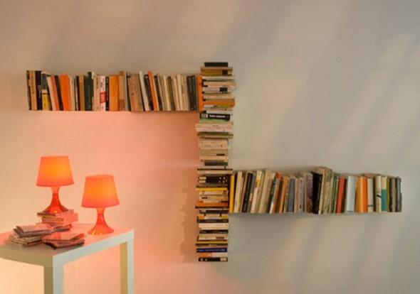 Como usar livros na decoração 014
