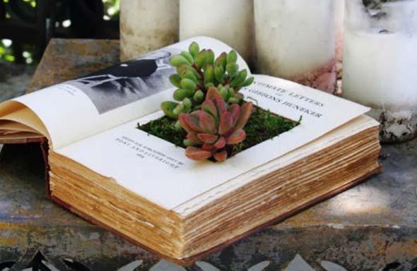 Como usar livros na decoração 016