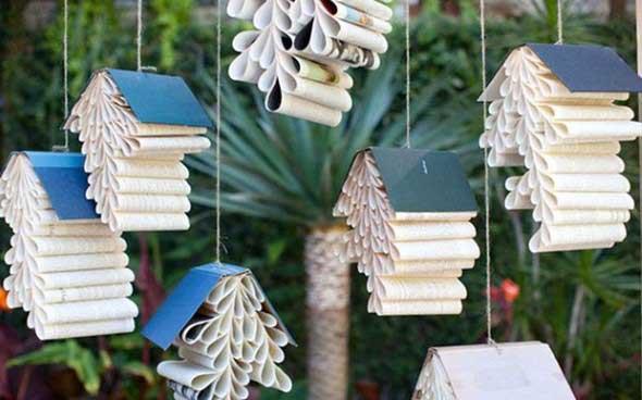 Como usar livros na decoração 018