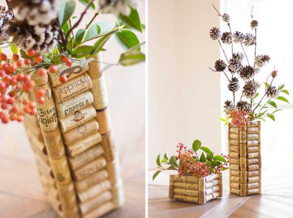 Ideias criativas de decoração com rolhas 004