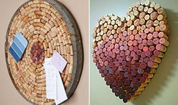 Ideias criativas de decoração com rolhas 005