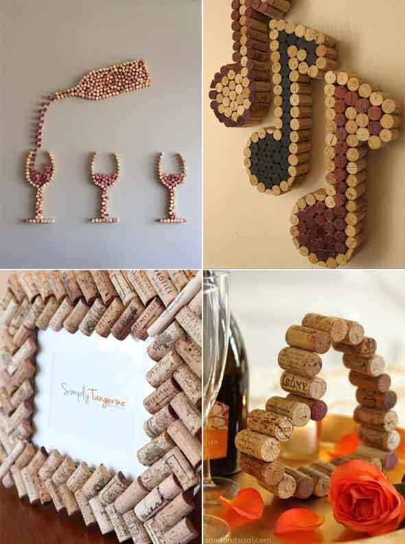 Ideias criativas de decoração com rolhas 011