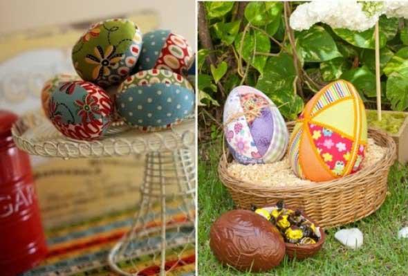 Ovos de páscoa na decoração 001