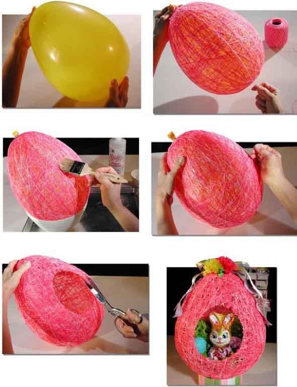Ovos de páscoa na decoração 002