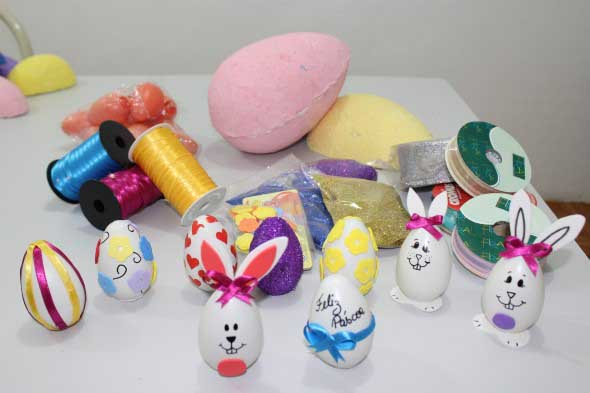 Ovos de páscoa na decoração 005