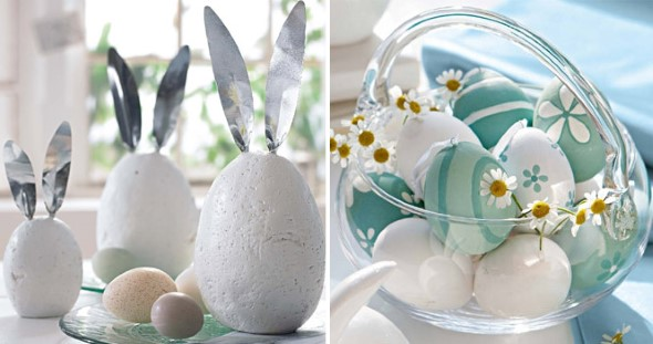 Ovos de páscoa na decoração 007