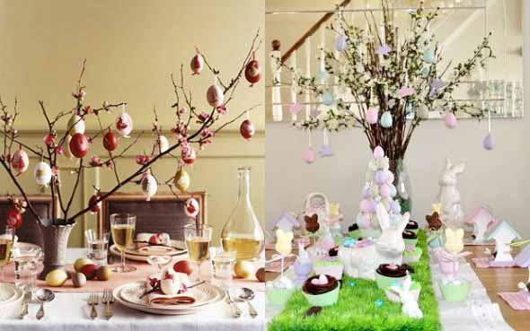 Ovos de páscoa na decoração 009