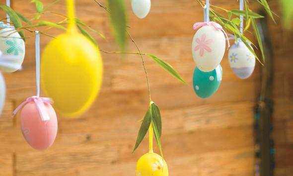 Ovos de páscoa na decoração 010