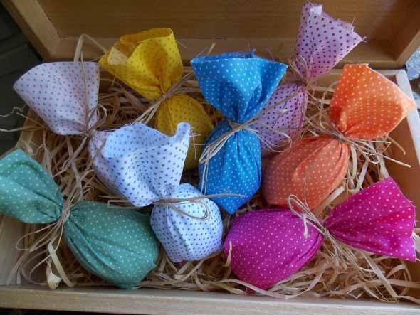 Ovos de páscoa na decoração 012