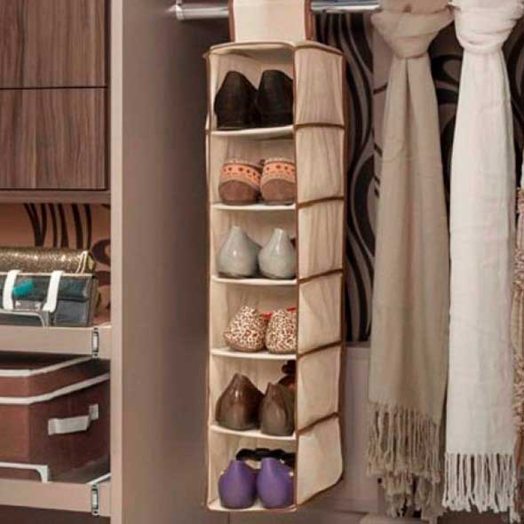 Prateleiras de calçados verticais 002