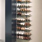 Prateleiras de calçados verticais 004