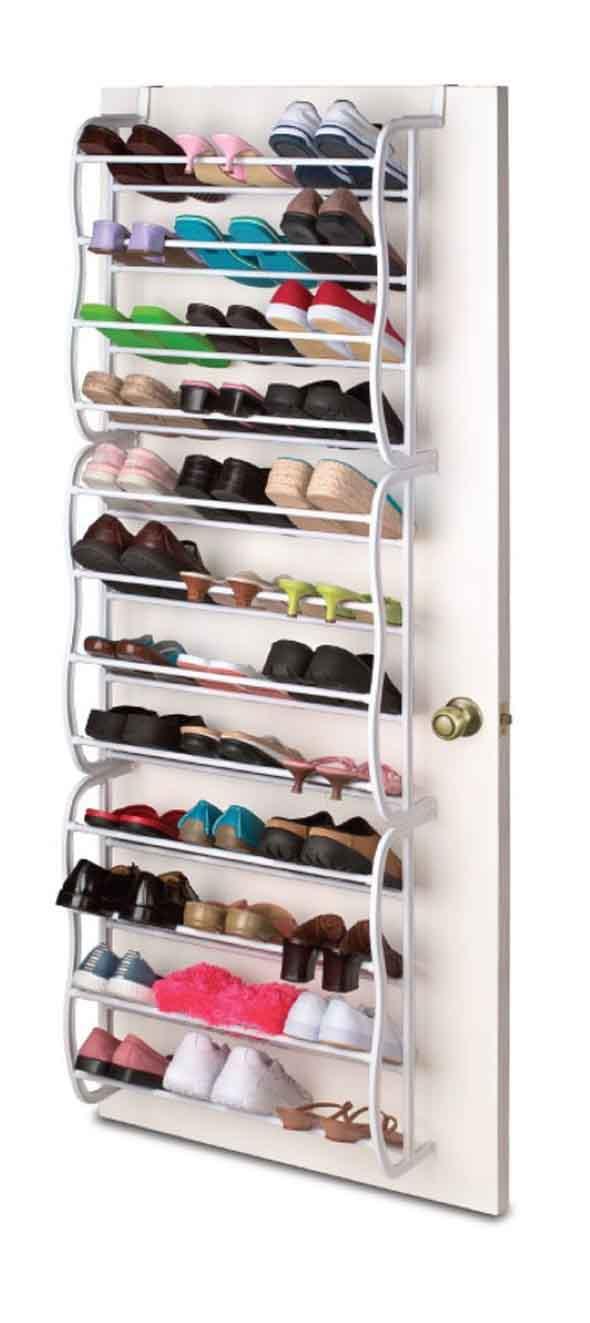 Prateleiras de calçados verticais 008
