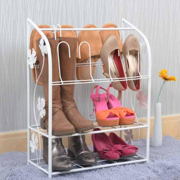 Prateleiras de calçados verticais 015