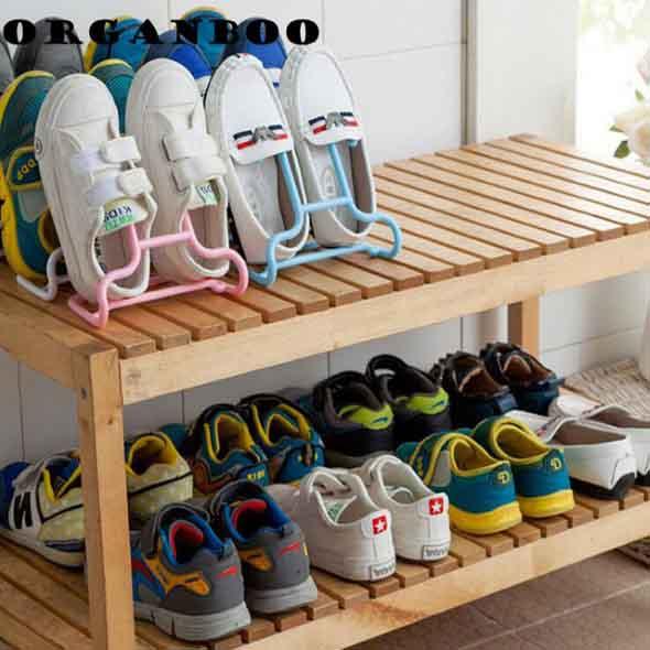 Prateleiras de calçados verticais 018