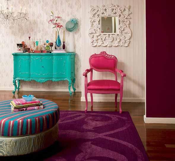 Cadeiras antigas na decoração 005