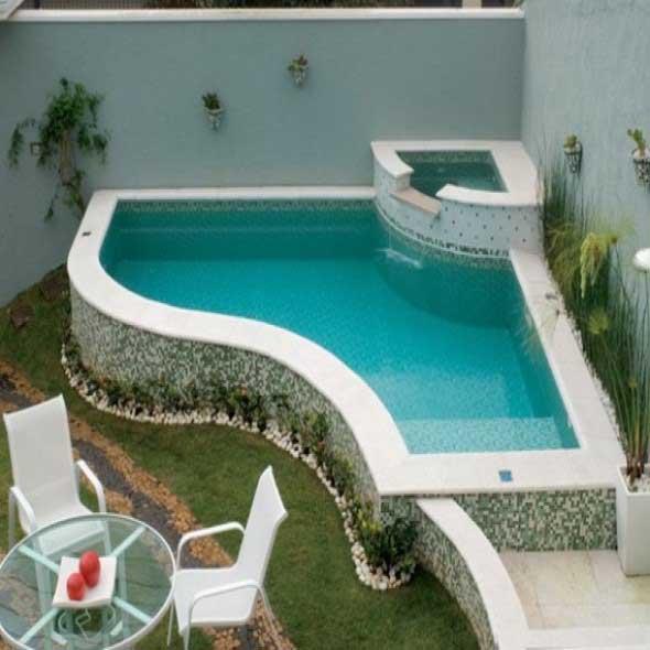 Modelos de piscinas pequenas para ter em casa - Piscinas para casas ...