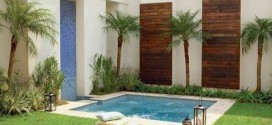 Modelos de piscinas pequenas para ter em casa