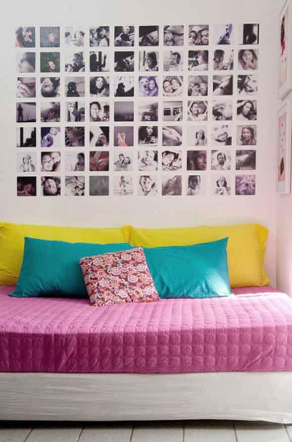 Usar fotografias para decorar paredes 007