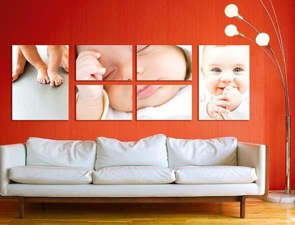 Usar fotografias para decorar paredes 008