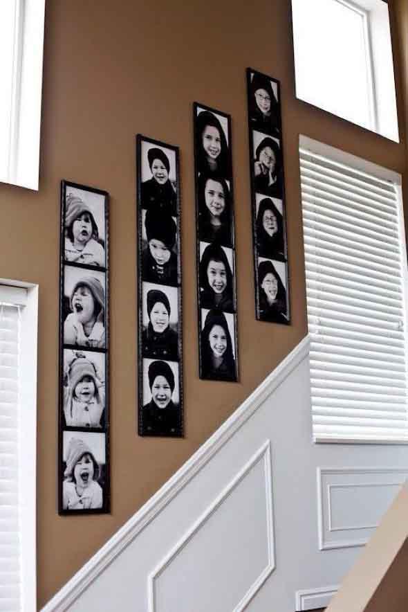 Usar fotografias para decorar paredes 011