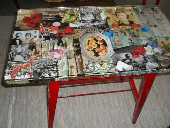 Criatividade com revistas, quadrinhos e jornais 012