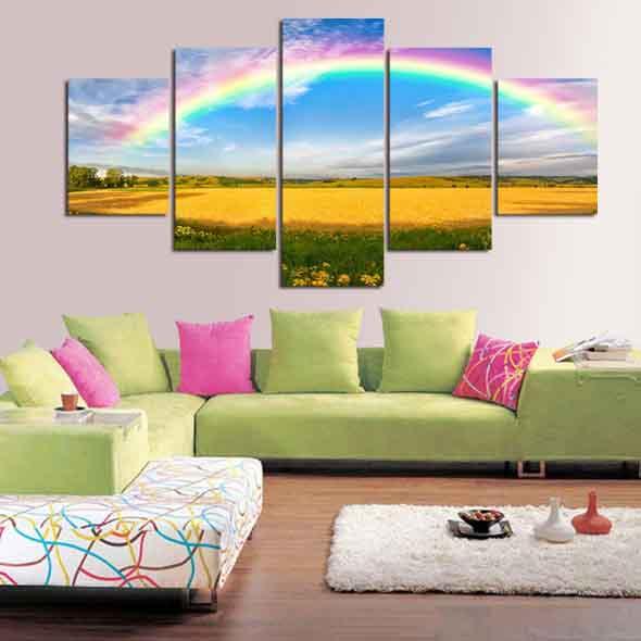 Decorar ambientes com as cores do arco-íris 004