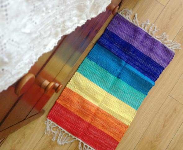 Decorar ambientes com as cores do arco-íris 005