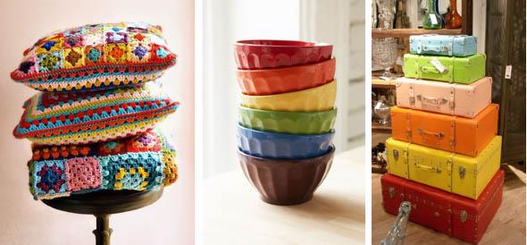 Decorar ambientes com as cores do arco-íris 008