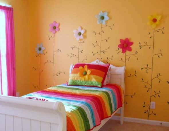 Decorar ambientes com as cores do arco-íris 012