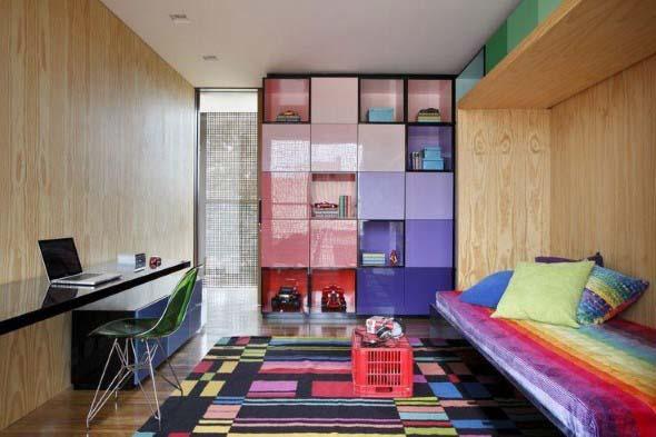 Decorar ambientes com as cores do arco-íris 015