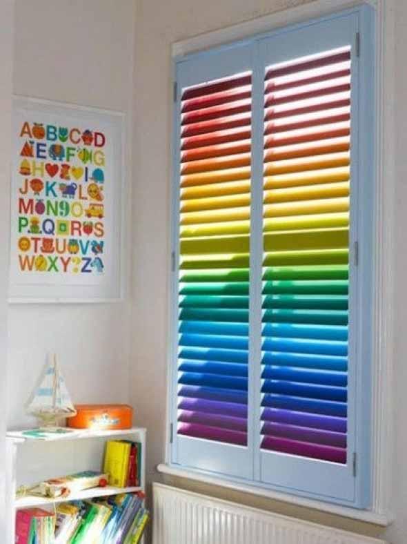 Decorar ambientes com as cores do arco-íris 016