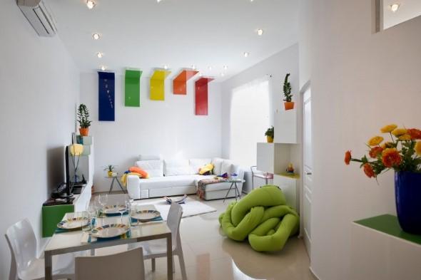 Decorar ambientes com as cores do arco-íris 018