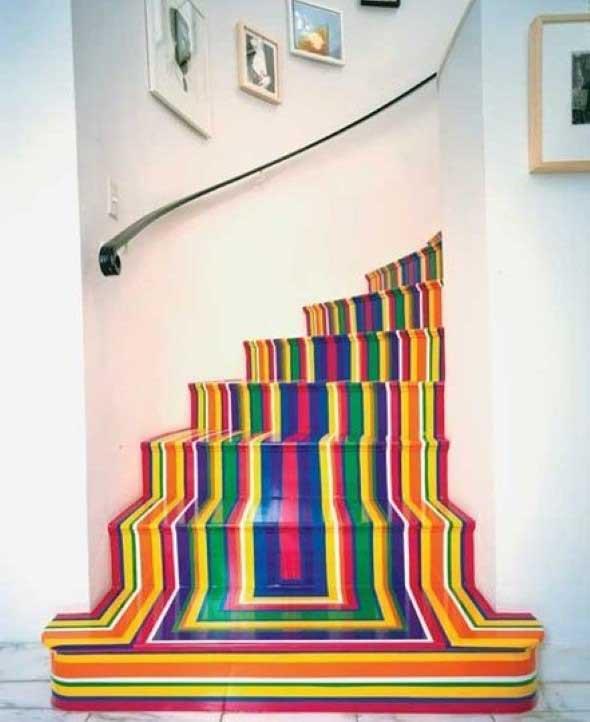 Escadas coloridas 003