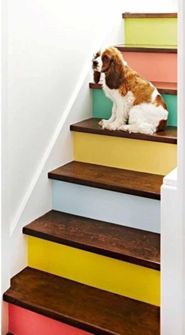 Escadas coloridas 004
