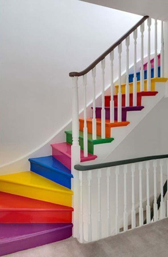 Escadas coloridas 005