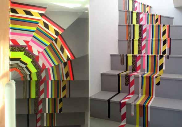Escadas coloridas 007