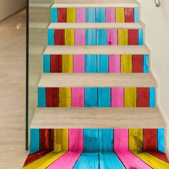 Escadas coloridas 009