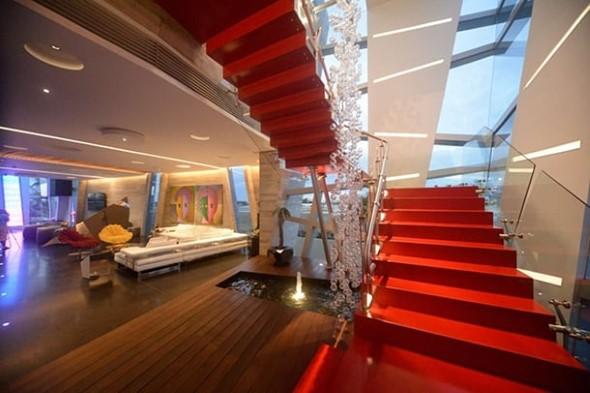 Escadas coloridas 016