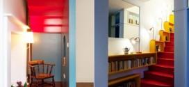Escadas coloridas – Uma ideia divertida na decoração