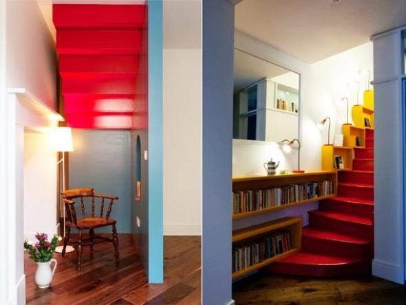 Escadas coloridas 017