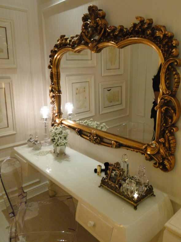 Espelhos antigos na decoração 002