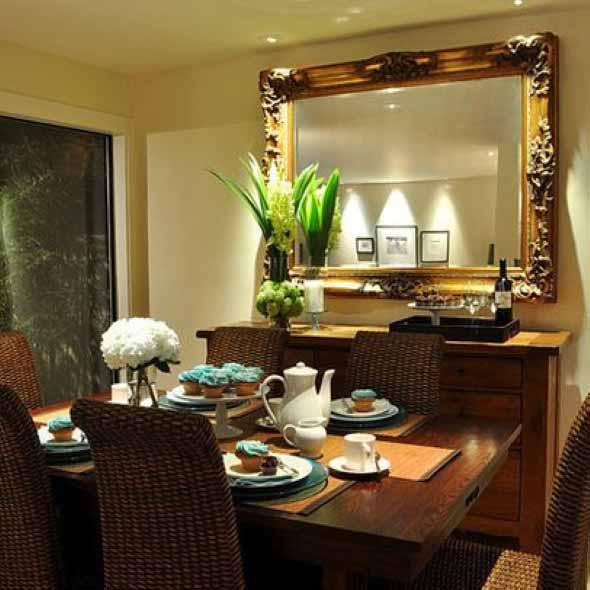 Espelhos antigos na decoração 007