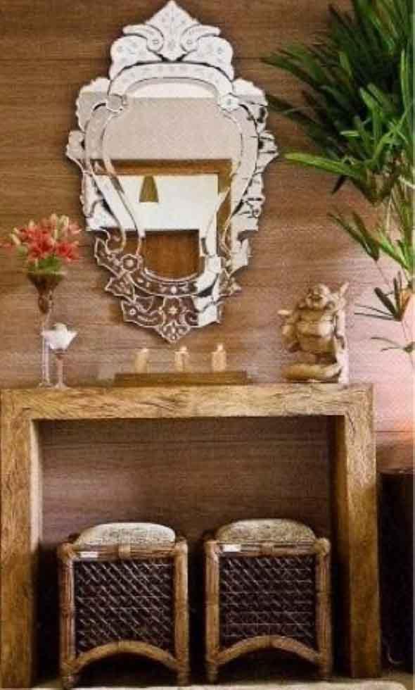 Espelhos antigos na decoração 009