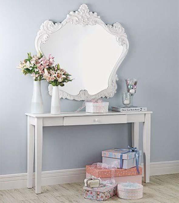 Espelhos antigos na decoração 010